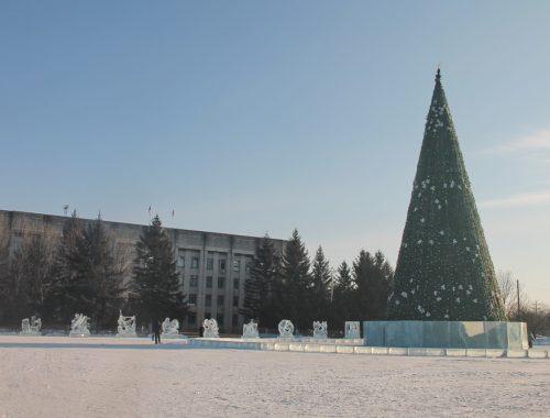 31 декабря новогоднее представление пройдет на площади им. Ленина