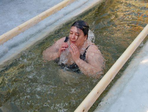 Праздник Крещения Господня отметили в Биробиджане