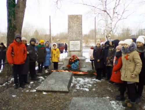 Память героев Волочаевской битвы почтили в поселке Бира