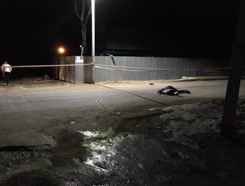 В Биробиджане пьяный водитель ночью сбил насмерть пешехода и скрылся с места происшествия