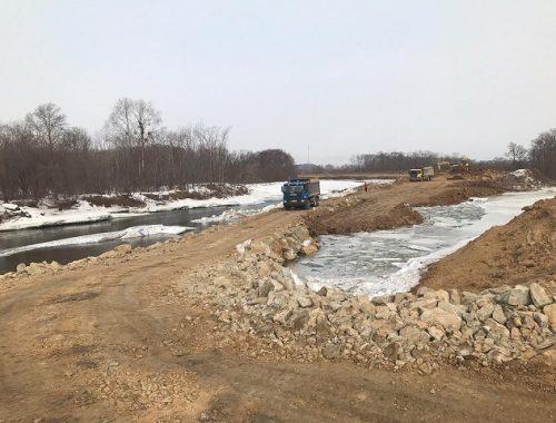 Сдать дамбу в поселке Тукалевский подрядчик планирует летом 2020 года