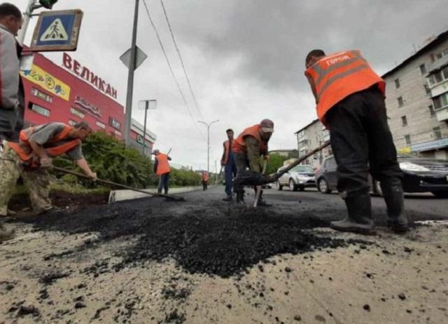 В Биробиджане отремонтируют 13 автодорог по нацпроекту