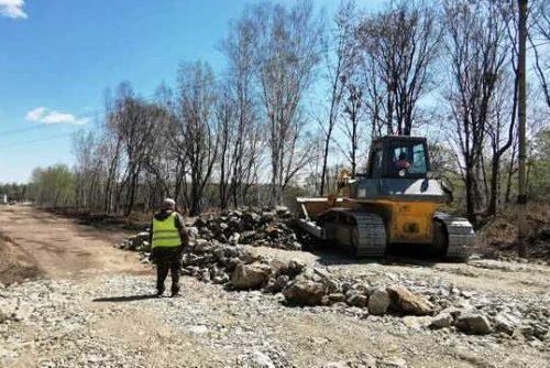 Дорогу на кладбище отремонтируют биробиджанские коммунальщики