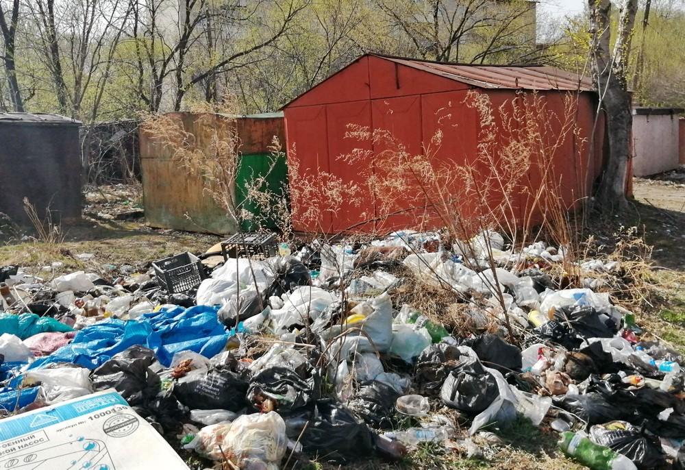 Мусорный коллапс надвигается на Биробиджан: старую городскую свалку закрыли, вывозить отходы некуда