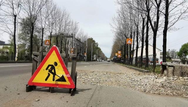 В Биробиджане заасфальтируют участок дороги на ул. Шолом-Алейхема