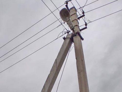 Хоть глаза выколи: жители окраины Биробиджана добиваются от мэрии восстановления уличного освещения