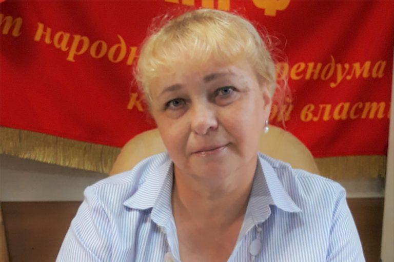 Первый секретарь горкома КПРФ Нина Калюкина вступила в борьбу за вакантный мандат в гордуме Биробиджана