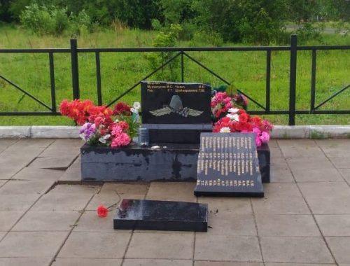 По факту повреждения памятника ветеранам Великой Отечественной войны в с. Аур возбуждено уголовное дело