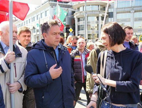 Депутаты Госдумы от КПРФ потребовали остановить судебную расправу над Николаем Платошкиным
