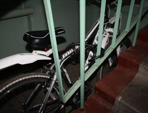В Биробиджане полицейские задержали подозреваемого в краже велосипеда