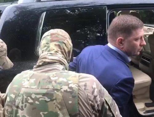 Следствие по делу экс-губернатора Сергея Фургала продлили до 8 ноября