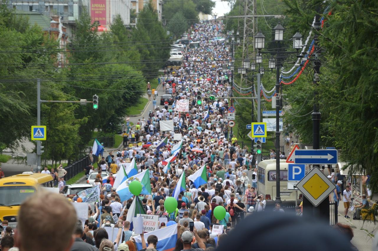 Хабаровск — протестная столица России