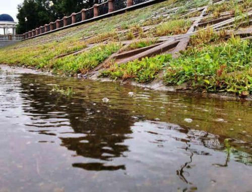 На 16 сантиметров поднялся уровень воды в Бире за сутки