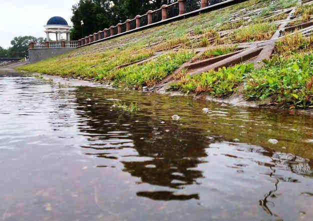 На 36 см выше поймы поднялся за сутки уровень воды в Бире