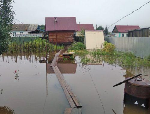 43 приусадебных участка, 5 домов и 8 участков дорог подтоплены в ЕАО