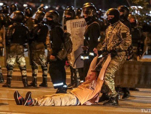 После победы Лукашенко в Белоруссии начались массовые беспорядки
