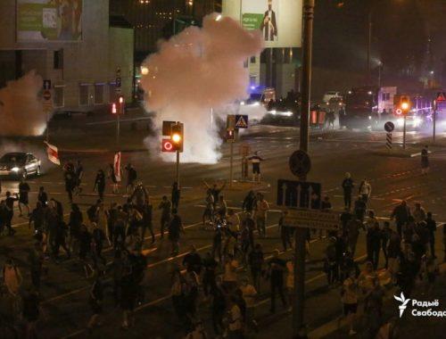 В Минске в ходе столкновений погиб один протестующий