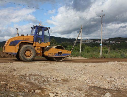 Началась реконструкция участка подъездной дороги к Теплоозерску