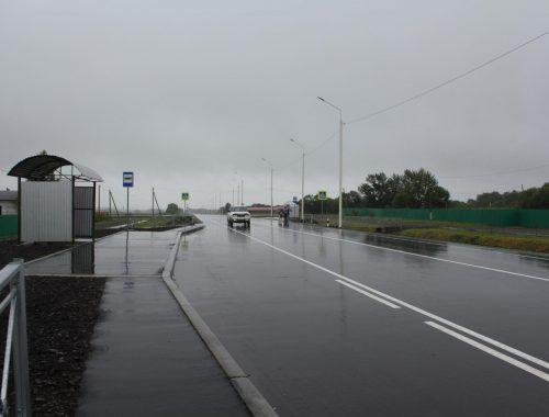 В ЕАО завершилась реконструкция участка трассы «Биробиджан – Унгун – Ленинское»
