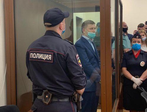 Фургал заразился короновирусом, находясь в «Лефортово»