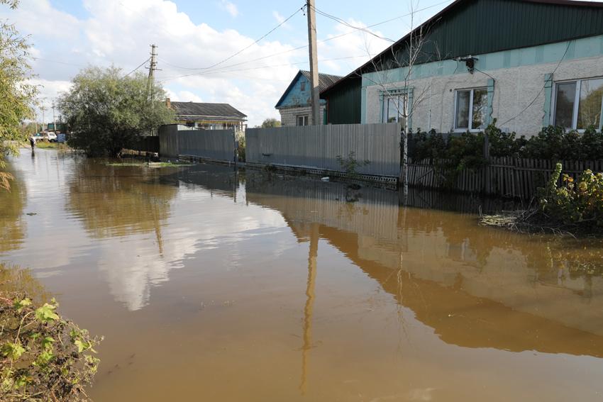 В ЕАО от воды освободились все подтопленные территории