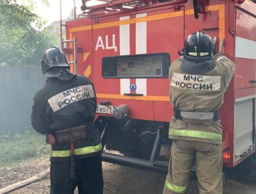 Труп на месте пожара в селе Пронькино обнаружили огнеборцы