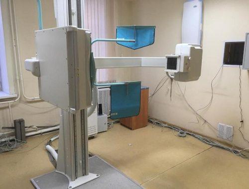 В областной поликлинике сломался флюорограф