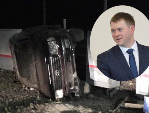 «На момент ДТП меня в служебном автомобиле не было»: мэр Биробиджана ответил на запрос интернет-газеты «Набат» по поводу резонансной аварии