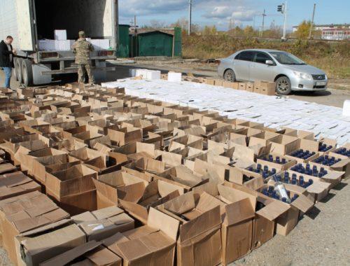 Партию нелегального алкоголя на 5,2 млн рублей изъяли полицейские ЕАО