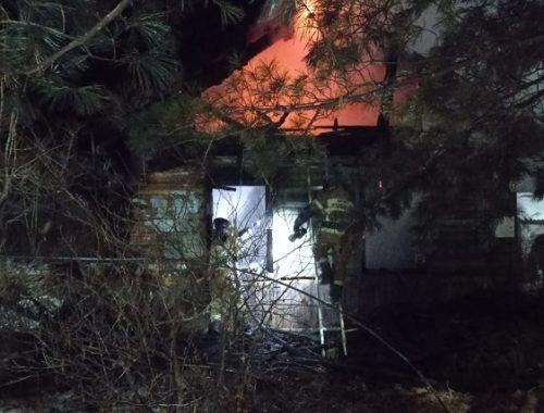 Три человека погибли при пожаре в ЕАО
