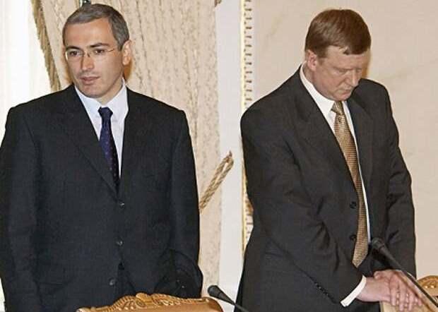 Лжец Чубайс против вруна Ходорковского