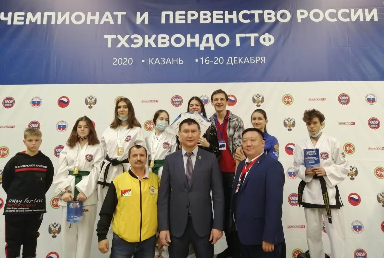Сборная ЕАО по тхэквондо завоевала пять золотых медалей на всероссийских соревнованиях в Казани