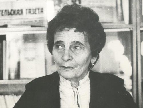 100 лет назад родилась Почётный гражданин Биробиджана Вера Глейзер