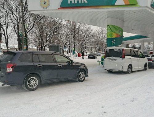 В Биробиджане возникли перебои с автомобильным топливом
