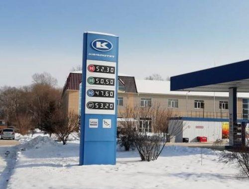 Спекулянты начали взвинчивать цены на бензин после сокращения его поставок в ЕАО