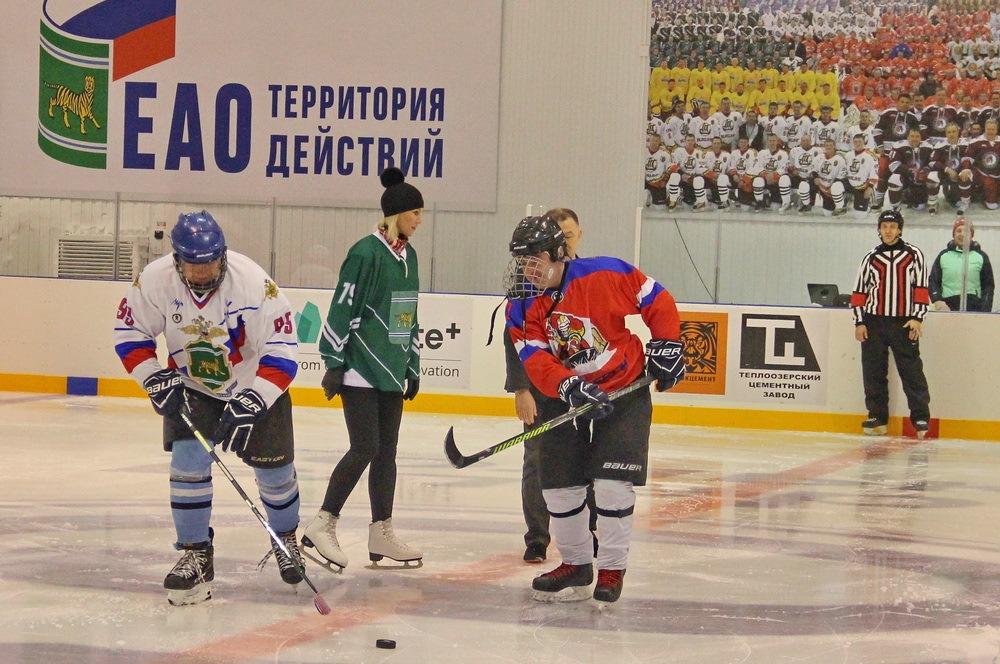 С победы «Альтаира» стартовал чемпионат НХЛ в ЕАО