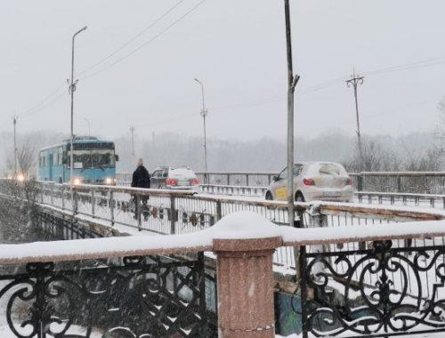 11 февраля в Биробиджане перекроют движение по старому мосту