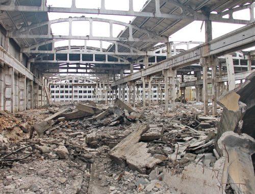 «Памятники разрухе» продолжают уродовать Биробиджан