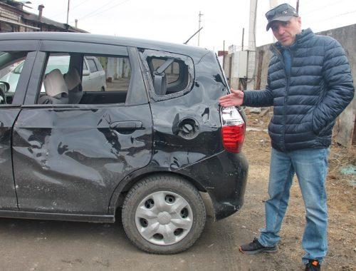 Биробиджанец намерен добиться компенсации за поврежденный возле долгостроя личный автомобиль