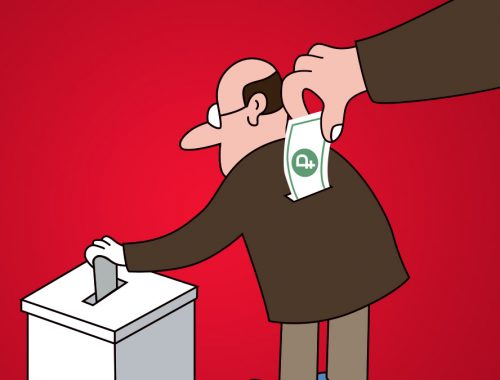 В Мособласти избирателям предлагали 1000 рублей за голос, отданный «Единой России»