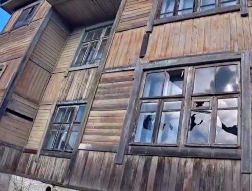 Активисты КПРФ проинспектировали трущобы Облучья