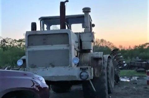 Трактор удалось отстоять