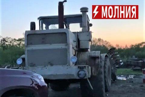 «Помогите, это произвол»: у начинающих фермеров в с. Новотроицкое в разгар посевной изымают трактор