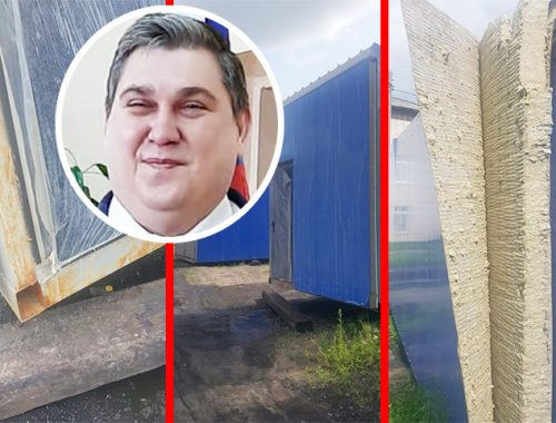 Четыре месяца ржавеет под открытым небом модульная котельная в Смидовиче, поставленная по губернаторской программе