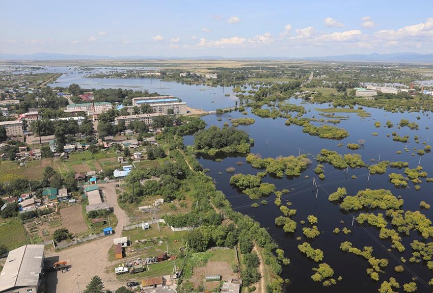 Уровень воды в Амуре у сёл Пашково и Екатерино-Никольское поднялся на 18 см за сутки