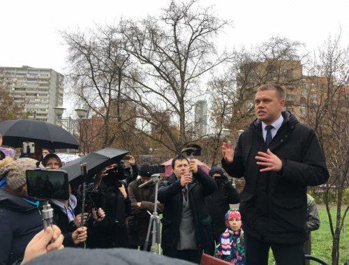 Пользователи Интернета собирают подписи в защиту оппозиционного депутата Мосгордумы Евгения Ступина