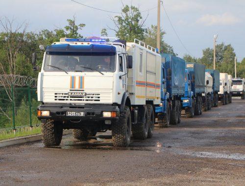Военнослужащие Амурского спасательного центра МЧС встретят гребень паводка в ЕАО