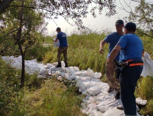 Статистика наводнения-2021: для защиты ЕАО от паводка уложили 186 тысяч мешков с песком