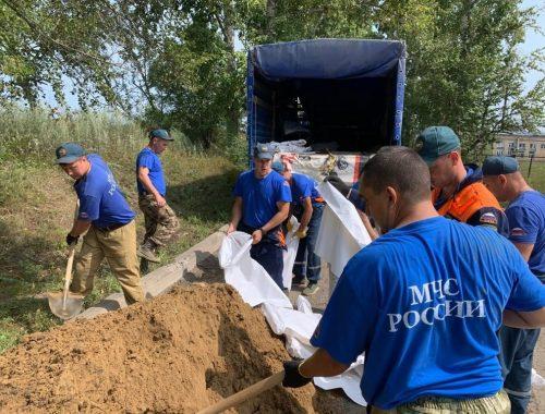 Почти 600 человек борются с последствиями наводнения в ЕАО