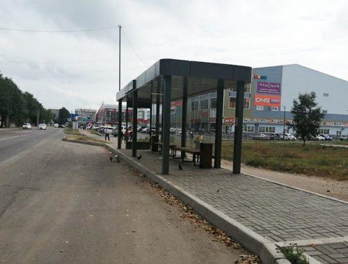 Остановка «Новая» за 2,3 млн рублей возле мамедовского торгового центра до сих пор не введена в эксплуатацию